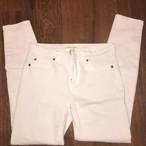 LIFE IN PROGRESS White Skinny Jeans